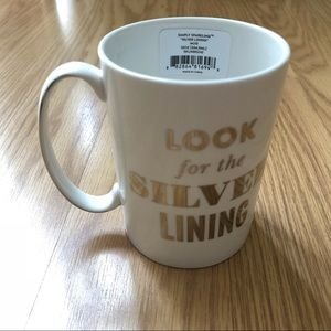 Kate Spade Look for the Silver Lining ceramic mug